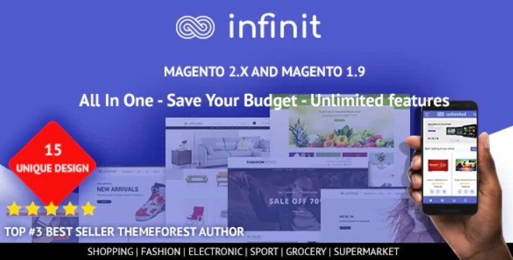 You are currently viewing Infinit 1.2.3 – Multipurpose Responsive Magento 2 and 1 Theme