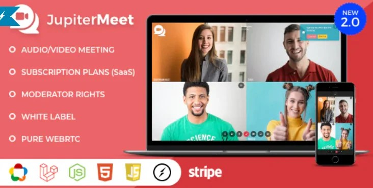 Read more about the article JupiterMeet 2.0.3 NULLED – Video Conference