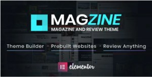 Read more about the article Magzine 1.2 – Elementor Review and Magazine Theme