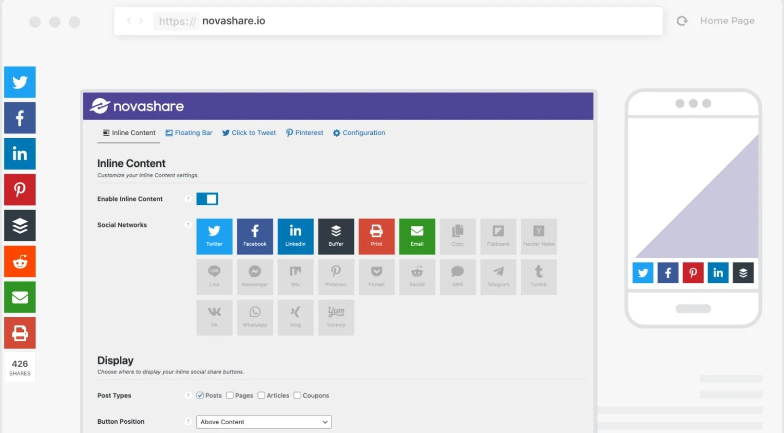 You are currently viewing Novashare 1.2.2 NULLED – WordPress Social Sharing Plugin