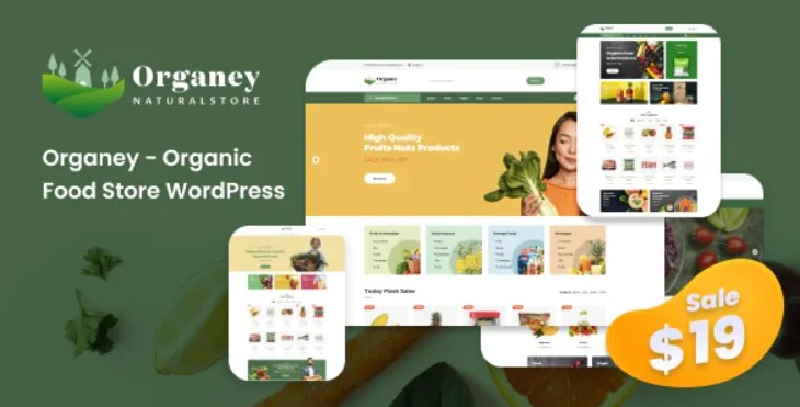 You are currently viewing Organey 1.5.1 – Organic Food WooCommerce WordPress Theme