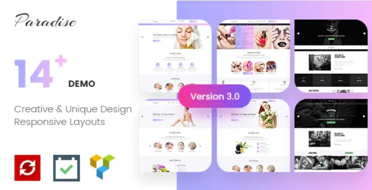 You are currently viewing Paradise 3.0.1 – Multipurpose Spa & Beauty WordPress Theme