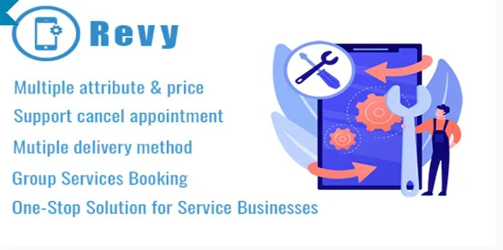 You are currently viewing Revy 1.3 – WordPress Booking System