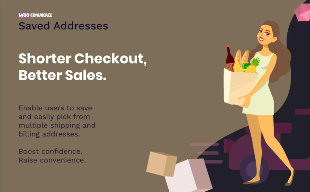 You are currently viewing Saved Addresses For WooCommerce 2.5.1