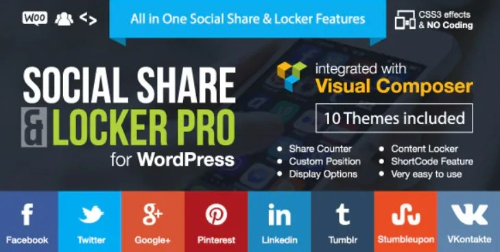 You are currently viewing Social Share & Locker Pro 7.8 NULLED – WordPress Plugin