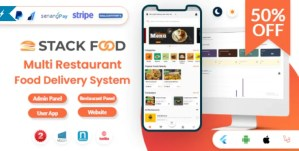 Read more about the article StackFood Multi Restaurant 2.1 NULLED – Food Delivery App