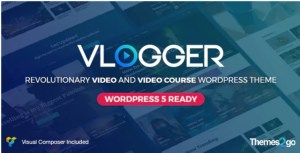 Read more about the article Vlogger 2.6.7 – Professional Video & Tutorials WordPress Theme