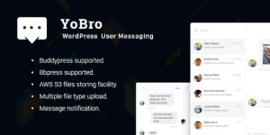 Read more about the article YoBro 2.3 – WordPress Private Messaging Plugin