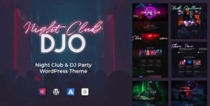 Read more about the article DJO 1.0.8 – Night Club and DJ WordPress Theme