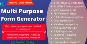 Read more about the article Multi-Purpose Form Generator & docusign with SaaS 4.0 NULLED