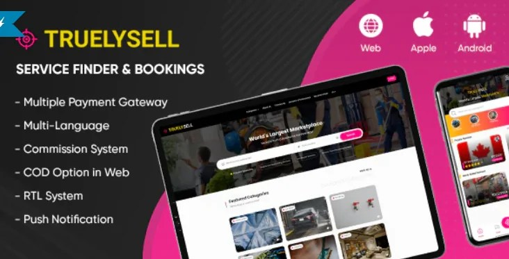 You are currently viewing TruelySell 2.0.8 – Service Finder and Bookings
