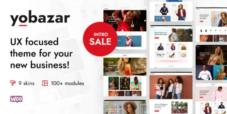 You are currently viewing Yobazar 1.0.8 – Elementor Fashion WooCommerce Theme