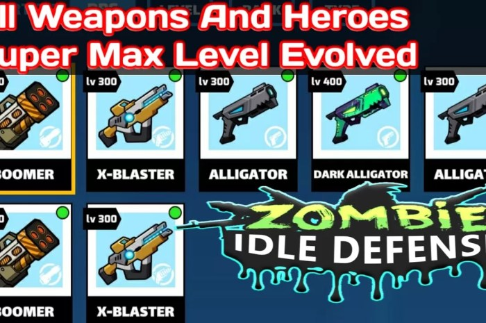 Zombie Idle Defense Mod APK Latest Version