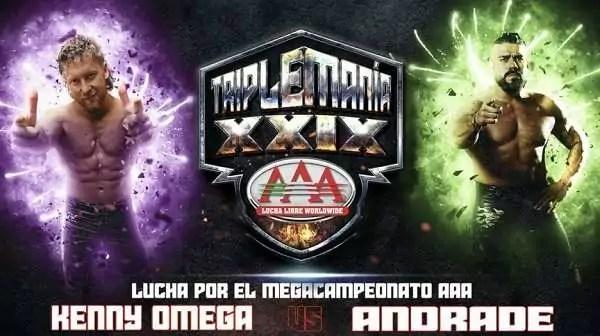 Watch Wrestling AAA TripleMania XXIX 2021 8/14/21