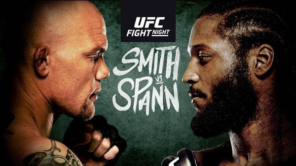 Watch Wrestling UFC Fight Night: Smith vs. Spann 9/18/21