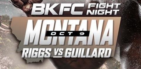 Watch Wrestling BKFC Fight Night Riggs vs. Guillard 10/9/21