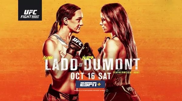 Watch Wrestling UFC Fight Night Vegas 40: Ladd vs. Dumont 10/16/21