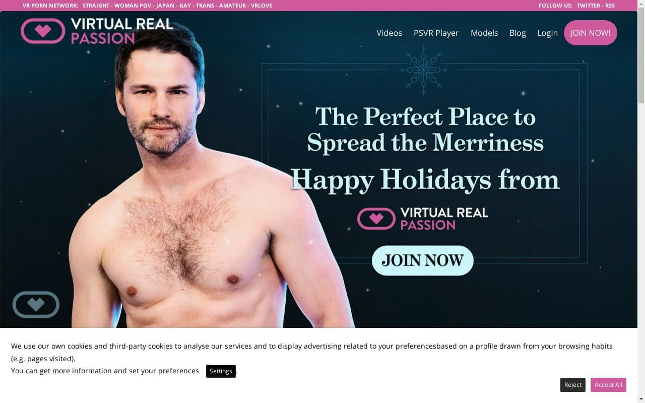 Virtual Real Passion - best Gay Vr Porn Sites