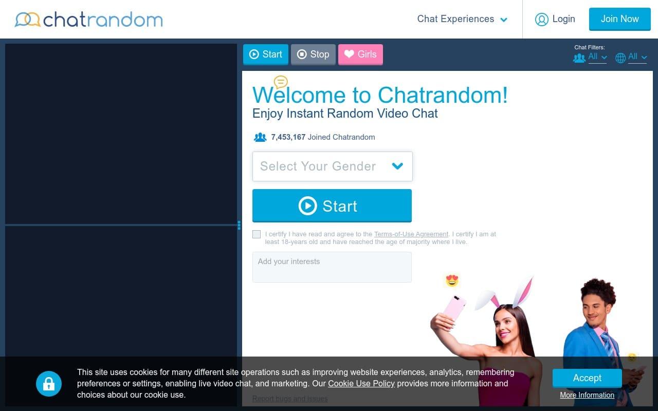 Chatrandom - best Sex Chat Sites