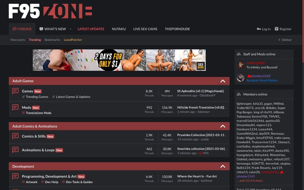 F95Zone - best Porn Forums