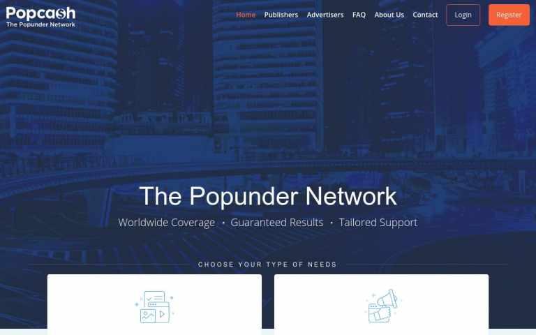 Popcash - best Adult AD Networks