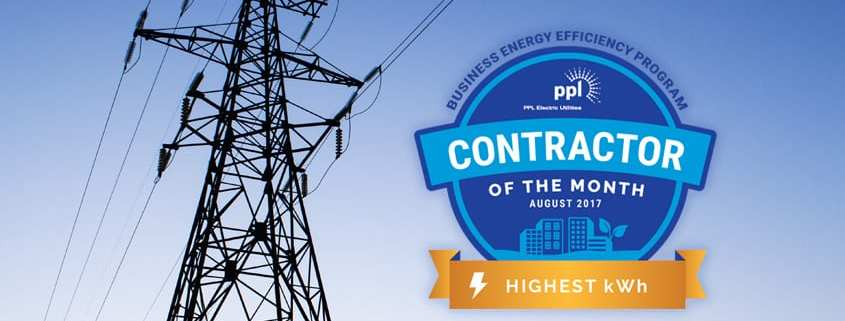 PPL Business Energy Contractor Award Graphic