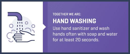 hand washing label
