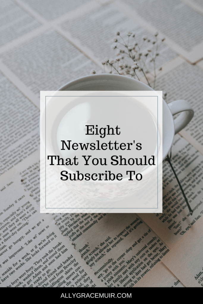Eight Newsletter's You Should Subscribe To