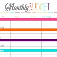 Free Printable Tuesday: Budget Planning Worksheets