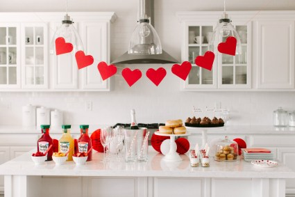 Valentine's Day Brunch & Mimosa Bar by The TomKat Studio