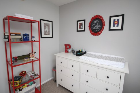 "Baby P's Gender-Neutral ""Nerdsery"""