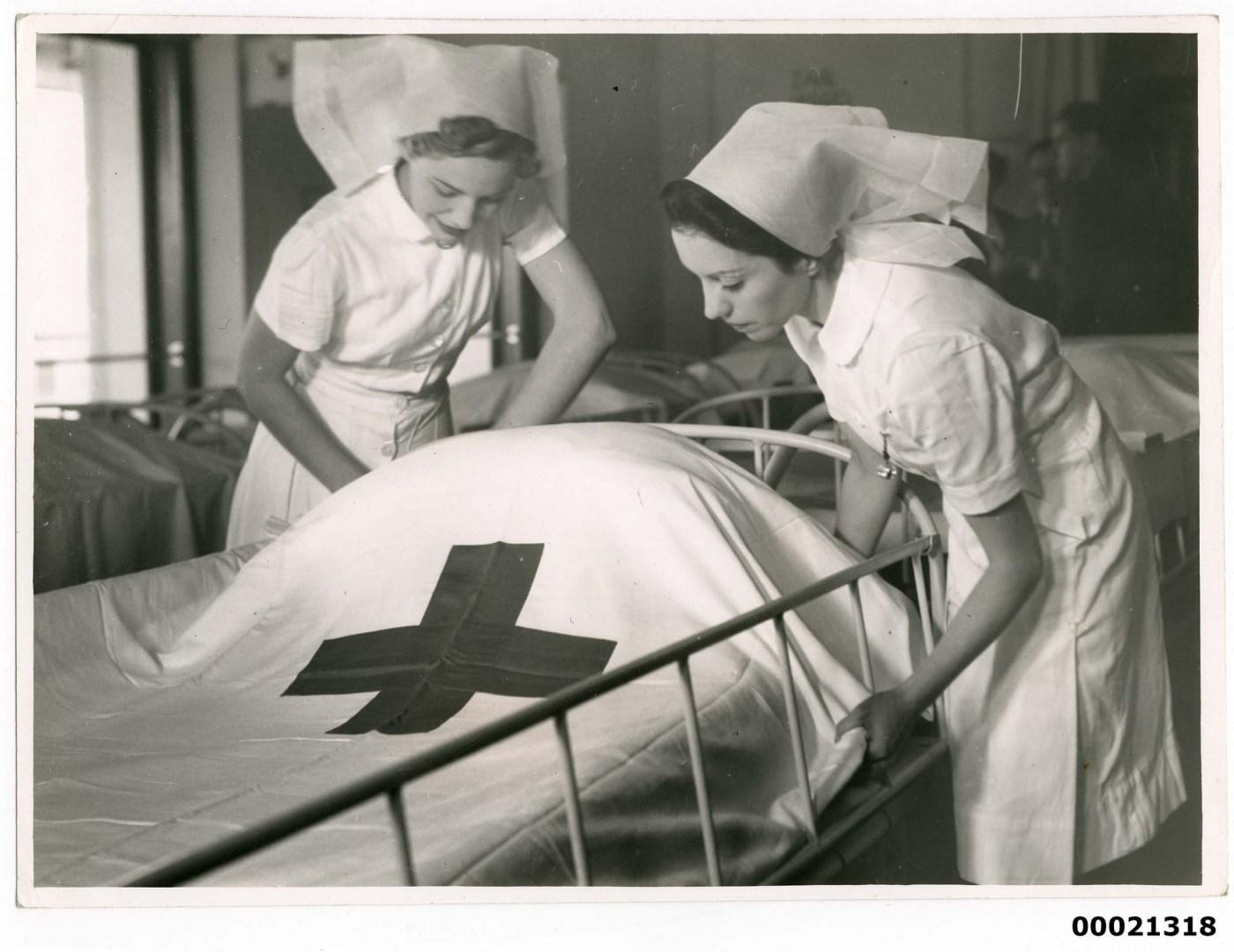 Oranje FEPOW nurses