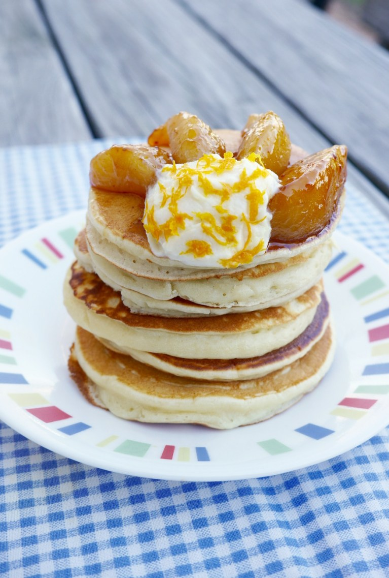 Pancakes with Pears