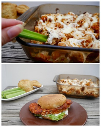 Buffalo Cauliflower Casserole