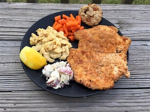 Baked-Chicken-Schnitzel-with-Cookie