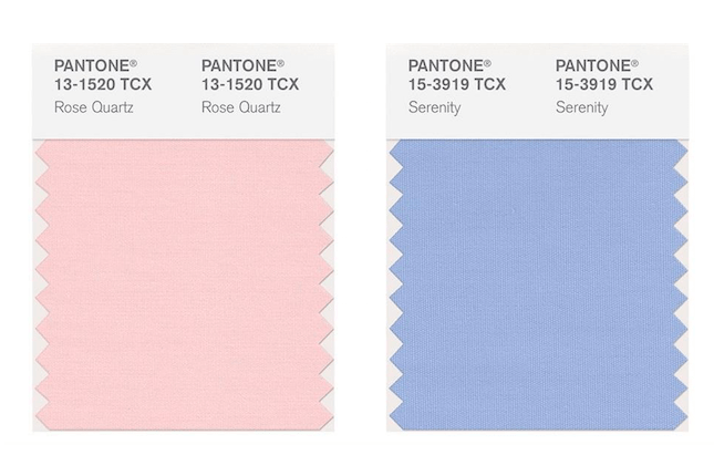 For the first time ever, Pantone reveals 2 Colors of the Year