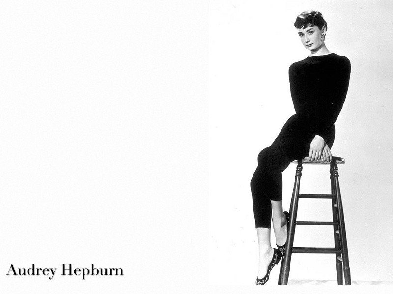 Audrey Hepburn Agrees Leggings Are Pants