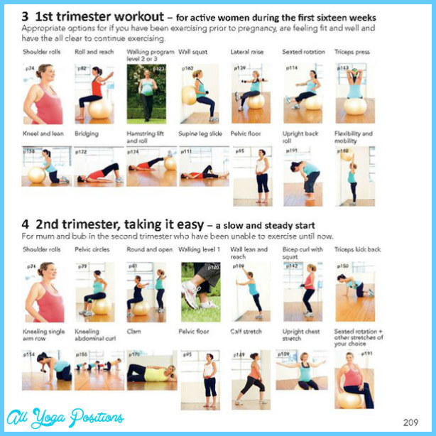 Pregnancy Exercises For Back Pain Allyogapositions Com 2nd Trimester