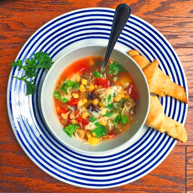 Simple Summer Vegetable Soup