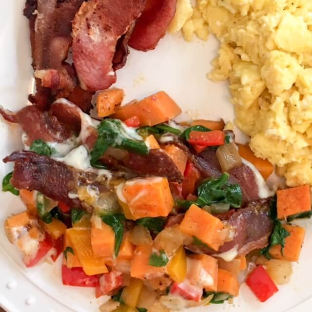 Healthy (ish) Southwestern Sweet Potato Hash