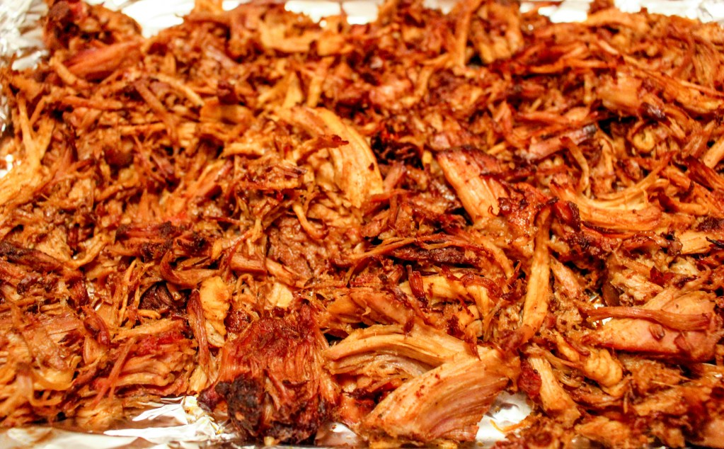 Spicy Slow Cooker Pork Carnitas