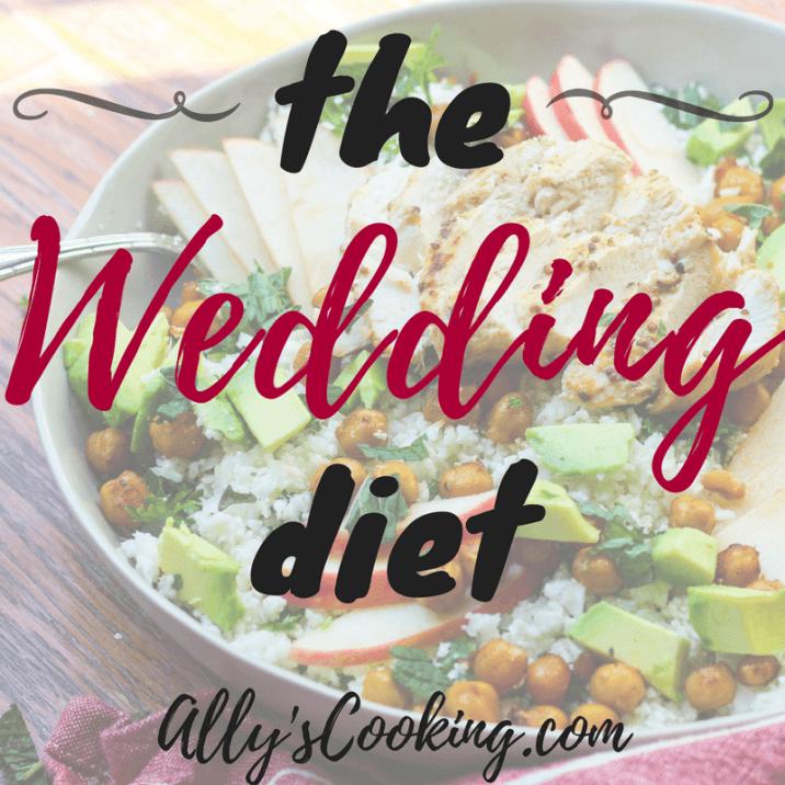 6 week wedding diet plan