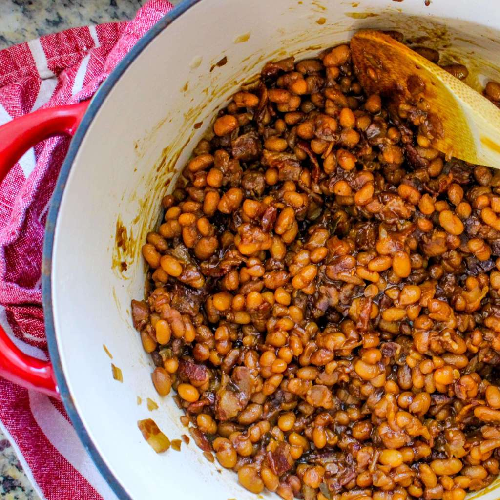 Sweet and Spicy Brown Sugar Baked Beans