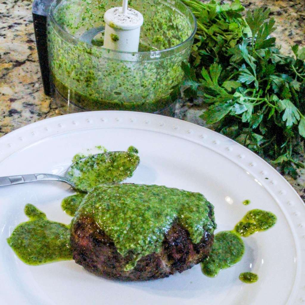 Grilled Chimichurri Steak