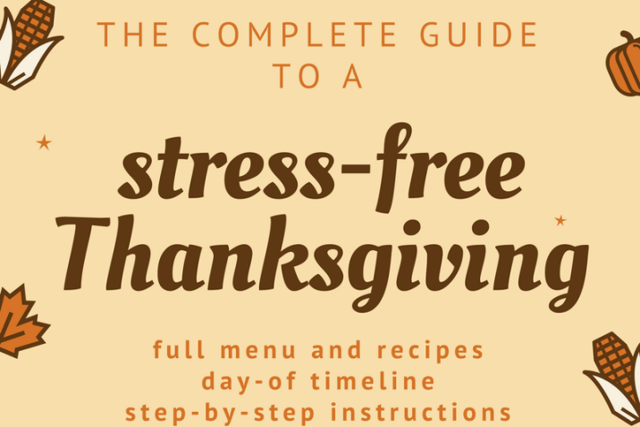 The Complete Guide to a Stress Free Thanksgiving for Four