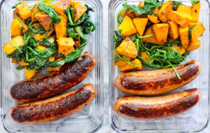 breakfast Meal Prep Sausage and Veggie Breakfast meal prep 5.1.18-6