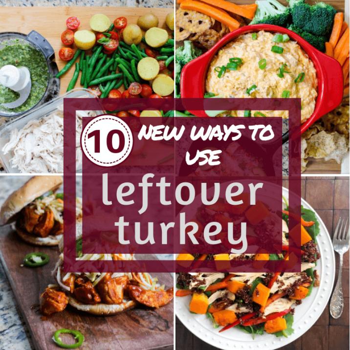 10 new ways to use leftover turkey