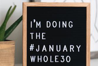 I'm doing the January Whole30