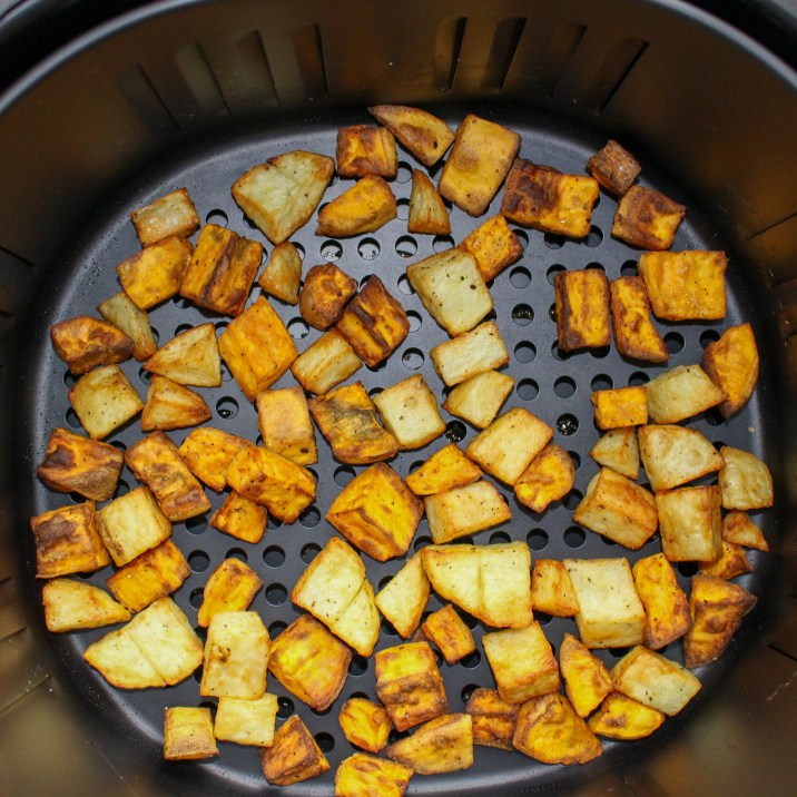 Two Tone Air Fryer Potatoes