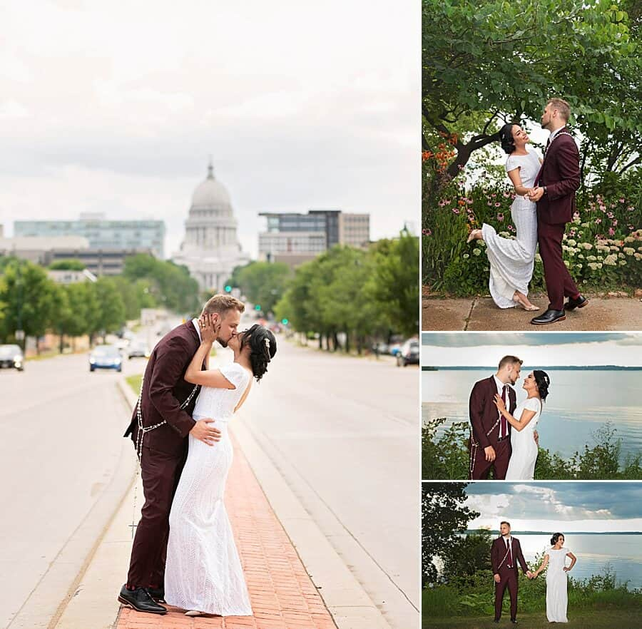 Madison Wedding at Cargo Coffee East in Madison, WI